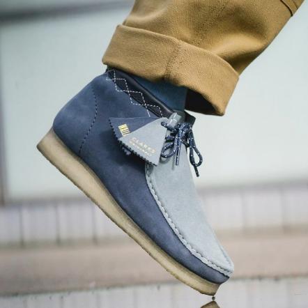 时尚男士的必备Clarks Desert Boot沙漠靴~