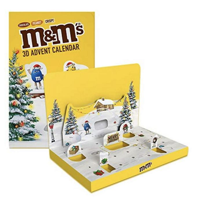 什么?现在就买得到2021年的圣诞日历了?MM豆给你新的圣诞惊喜!