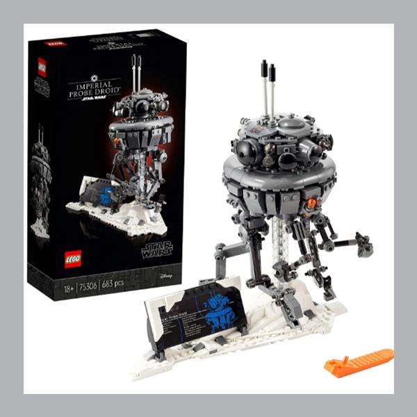 遍布银河的帝国之眼!LEGO 75306 Star Wars 帝国探测机器人