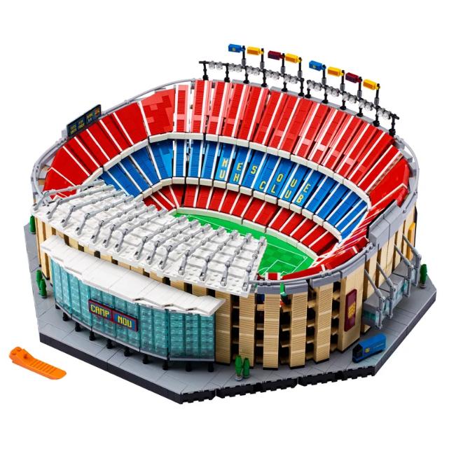 LEGO 10284 巴塞罗那足球队主场诺坎普球场开售啦!