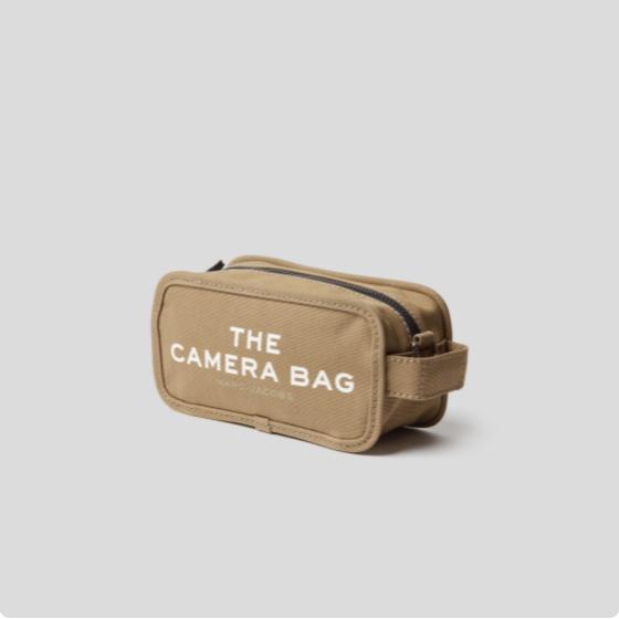 小马哥家绝赞的设计感~Marc Jacobs帆布相机包 三色可选