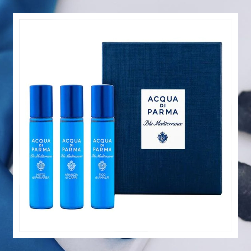 Acqua di Parma 帕尔玛之水蓝色地中海香氛套装#12ml*3支