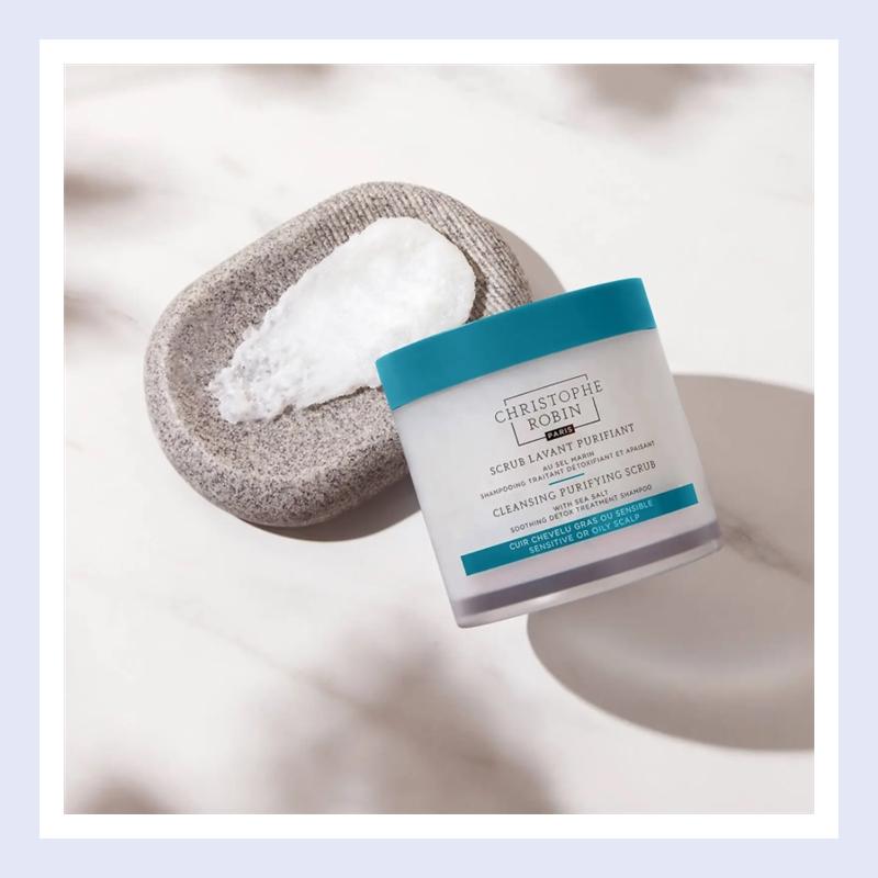 头发护理天花板推出新包装!Christophe Robin 海盐头皮洁净洗发膏#250ml