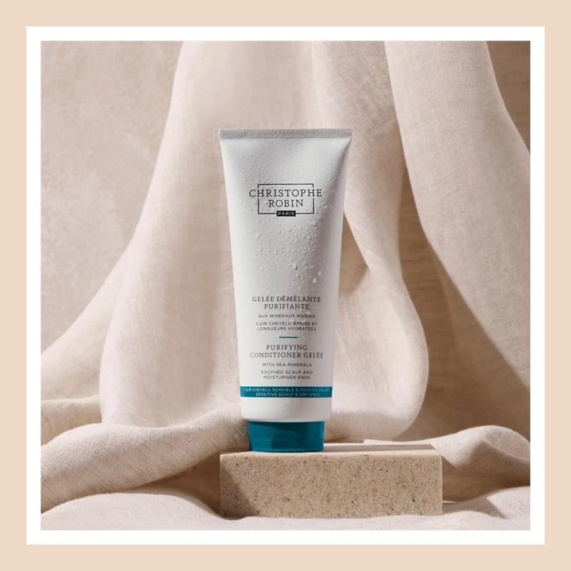 海盐洗发膏的绝佳好CP上线!Christophe Robin 海洋矿物保湿护发啫喱