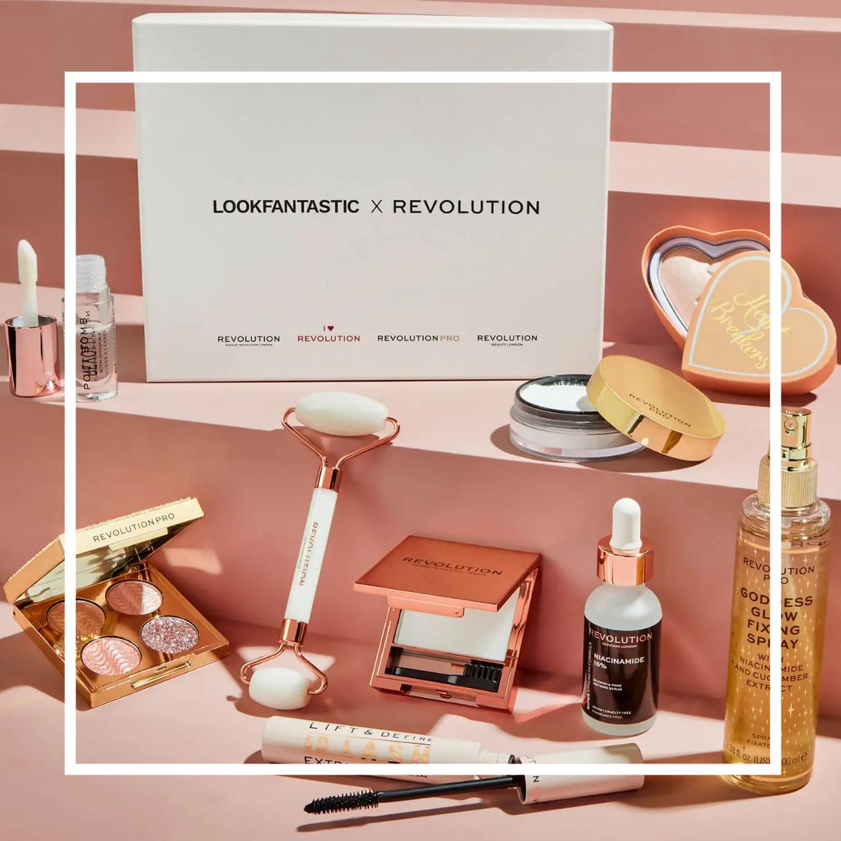 硬核Labor科技!LOOKFANTASTIC X Revolution Skincare限定2021美妆盒子