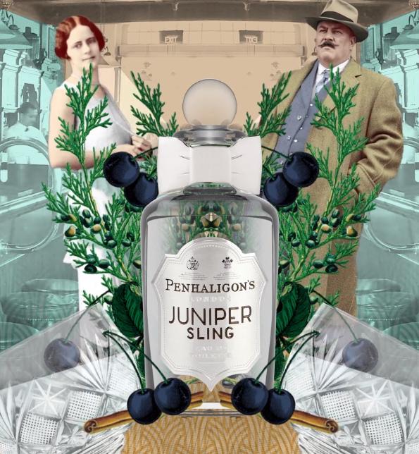 一口潇洒的琴酒,一抹凛冽的小清新!Penhaligon's Juniper Sling 潘海利根琴酒
