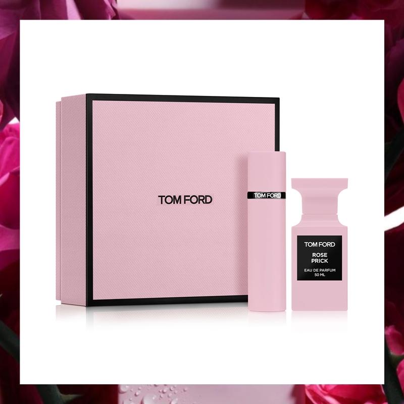 午夜盛开的带刺玫瑰!Tom Ford 私人调香系列禁忌玫瑰套装#Rose Prick