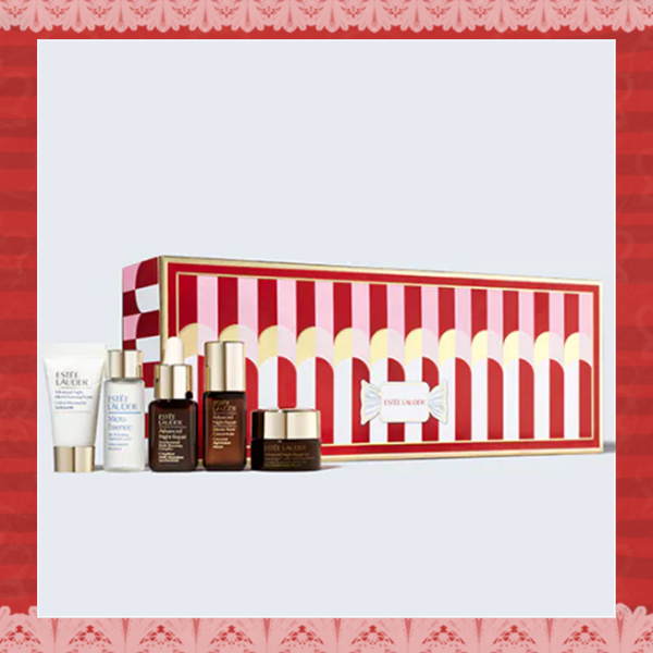 Estée Lauder Night Time Experts 圣诞小棕瓶套装