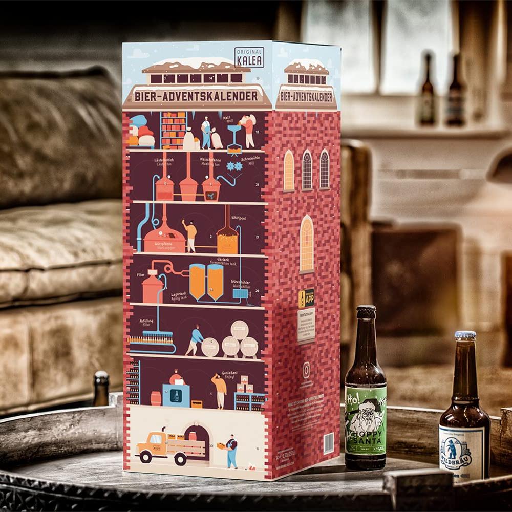 什么?啤酒也有圣诞日历了?精酿啤酒圣诞日历带你沉浸式体验圣诞!