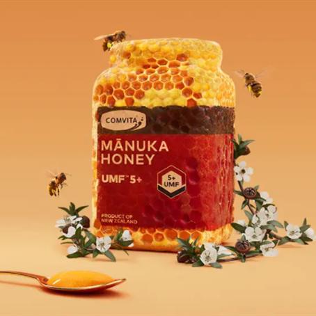 大自然的馈赠 传承匠心工艺 追求健康生活 Comvita康维他麦卢卡蜂蜜