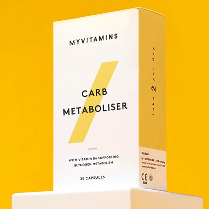 更强力阻断碳水,促进身体代谢!减肥路上的得力助手!加强版Myvitamins 超级碳水阻断胶囊