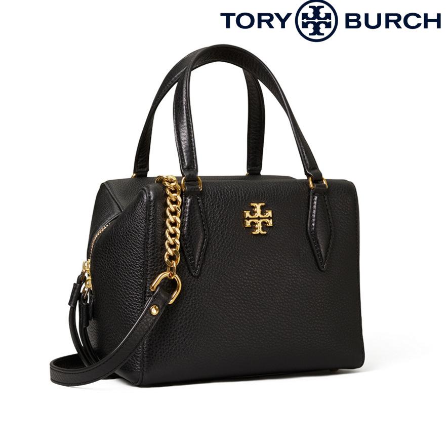TORY BURCH Kira M Satchel黑色骰子包