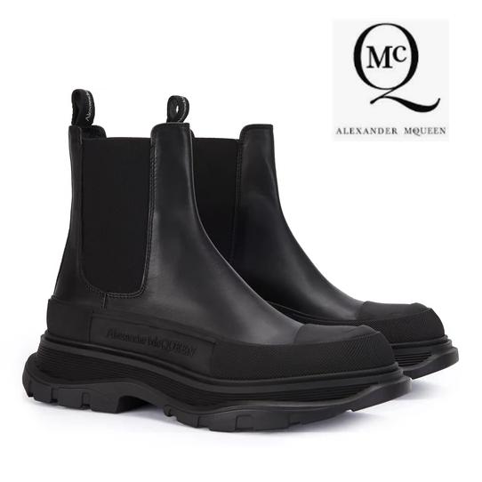 引领潮流 Alexander McQueen麦昆女式短靴