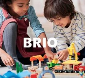 陪伴孩子童年的Brio木质火车玩具