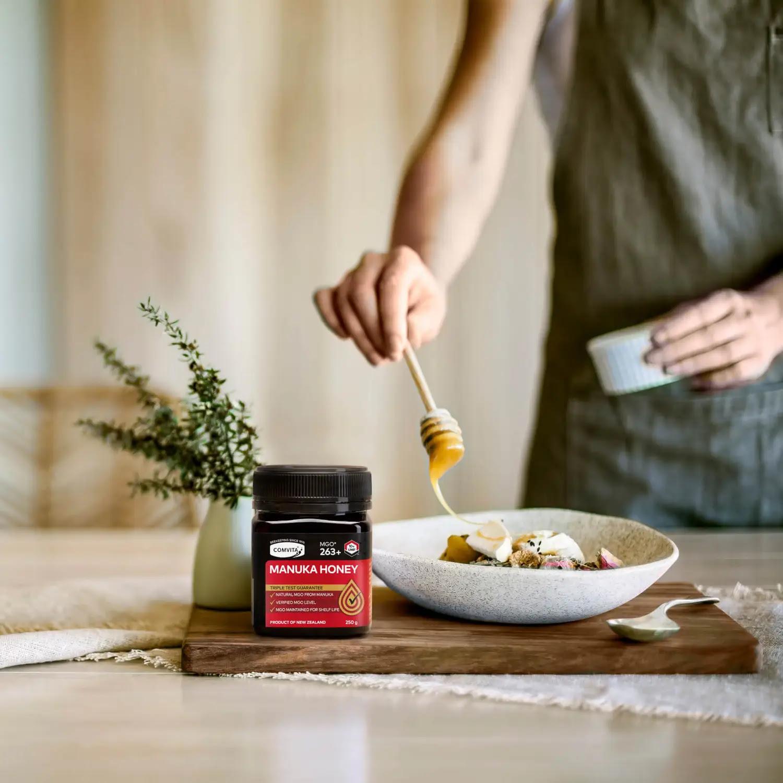 天然蜜意 大自然的免疫力量开启美好生活蜜码 COMVITA 康维他麦卢卡蜂蜜