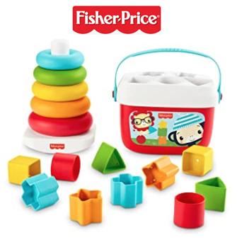 Fisher-Price费雪积木和彩虹塔套装