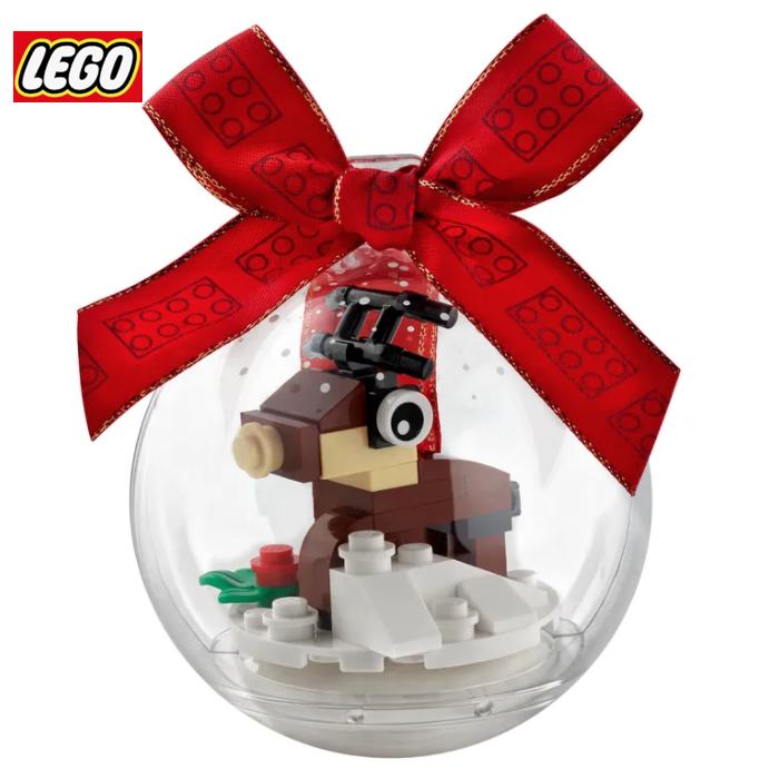 又补货啦!LEGO乐高圣诞水晶球