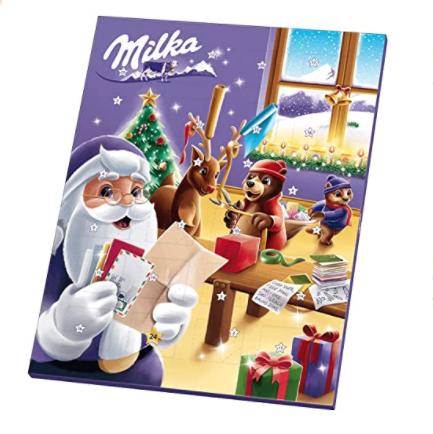 Milka牛奶巧克力圣诞日历