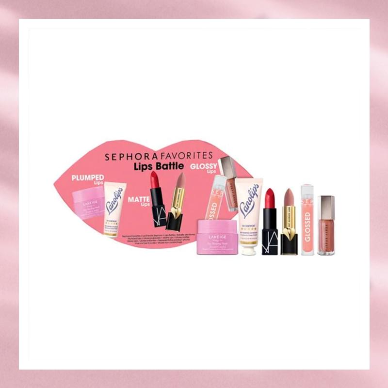 一年一度最值得入手的唇部套装!Sephora 丝芙兰挚爱系列唇部套装