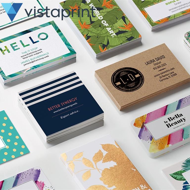 专注为个人和公司团队定制个性化用品~Vistaprint